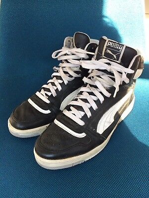 92822ef937d3 VINTAGE PUMA RALPH Sampson Sneakers Schuhe UK 8 old school retro 80s ...