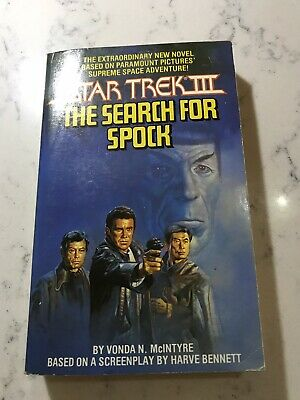 star trek iii the search for spock Vintage Pocket book 1984 Vonda McIntyre Rare