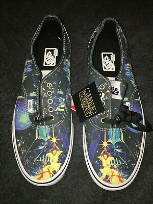 2ddf732f558413 RARE  STAR WARS May The Force Be With You Vans - Brand New With Tags ...