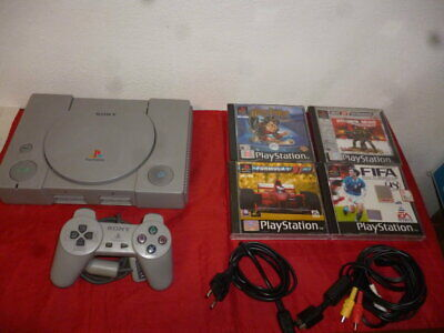PS1 Console Playstation 1 + giochi omaggio _ PlayStation 1 PSX PS ONE
