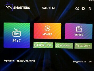 IPTV Subscription 2 day! Smart TV Channels and VOD 4K FHD HD SD Android MAG IOS