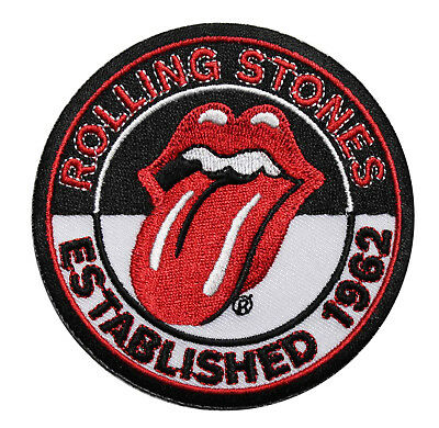111caaee1af Rolling Stones Established 1962 Embroidered Iron On Patch - Tongue OFFICIAL  103