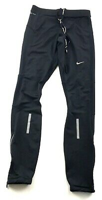 165487bd559 Nike Dri-Fit Mens Element Thermal Running Tights Black Reflecive Small  548162
