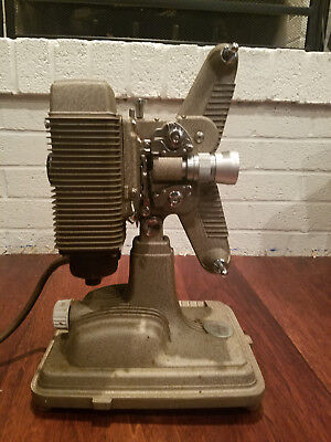 1936 VINTAGE KEYSTONE C-8 8mm Movie Projector Works with