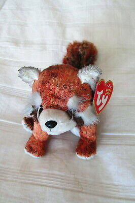 4d7953f9f25 TY RUSTY THE RED PANDA BEANIE BABY - MINT with MINT TAG -  8.95 ...
