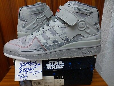 best cheap 58552 33a1c 2010 Ds Adidas Forum Mid Star Wars At-At Us 11.5 Uk 11 New Limited