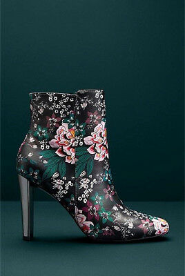 NIB $270 Designer WITCHERY Limited Edition Harper LEATHER BOOTS Italian 39 / 8