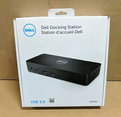 Dell USB 3.0 Ultra HD/4K Triple Display Docking Station (D3100)