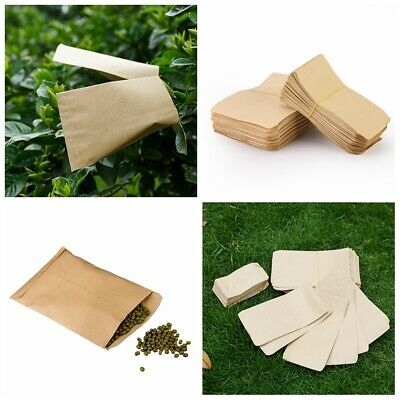 100 pcs New Small Kraft Paper Candy Bag Vintage Wedding Vogue Paper Seed bag