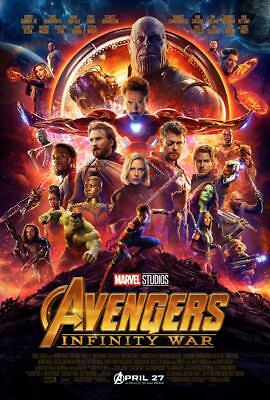 Avengers Infinity   War _Collage 11X17 Mini Movie Poster Collectible Marvel