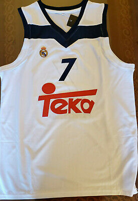release date: d21a5 64322 LUKA DONCIC REAL Madrid Euro League Basketball Jersey Mens Replica Large