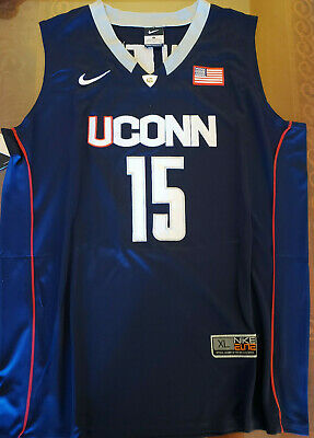 309d53681246 Throwback Kemba Walker UConn Huskies  15 Mens Size Extra Large Replica  Jersey