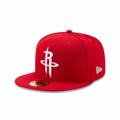 0df9179faa7200 Houston Rockets New Era Official Team Color 59FIFTY Fitted Hat - Red / White