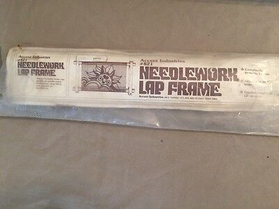 Accent Industries #821 Needlework Lap Frame 12 X 20
