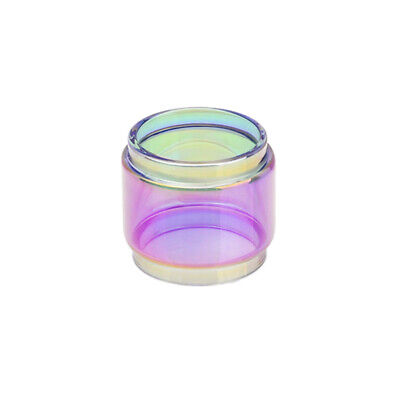 2pcs Replacement Rainbow Bubble Glass Tube For 1geekvape Blitzen Rta