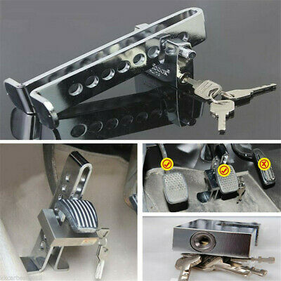 Car Van Brake Clutch Foot Pedal Security Anti Theft Adjustable Clamp Lock