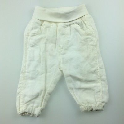 Girls,Boys size 0000, H&M, linen / cotton pants / bottoms, elasticated, EUC