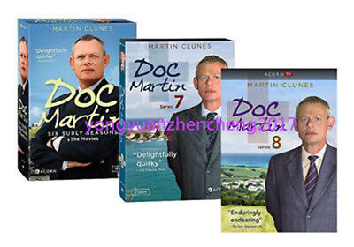 Doc Martin: The Complete Series Season 1-8 DVD BOX SET,SERIES 1,2,3,4,5,6,7,8