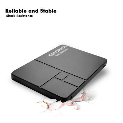 """Colorful SL500 512GB SSD SATA III Internal Solid State Drive 2.5/"""" up to 450MB//s"""