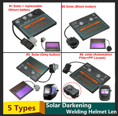 4 Types Auto Solar Darkening Welding Helmet Lens Goggles Mask Automation Filter