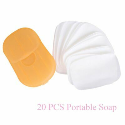 Mini Disposable Soap Flakes Rich Foam Soap Paper Sterilization Cleaning Hand hot