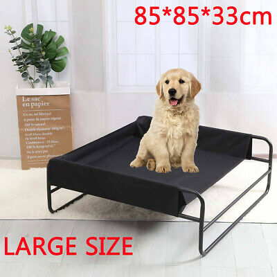 Indoor & Outdoor Portable Elevated Dog Pet Bed Waterproof Raised Camping Basket