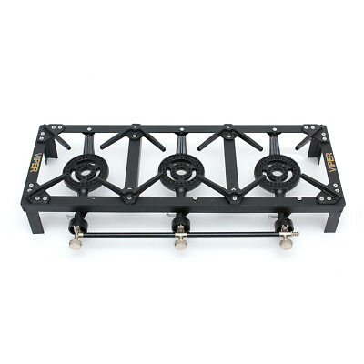 Viper LPG Triple Gas Burner Cooker Boiling Ring 15 KW Output -Camping/ Catering