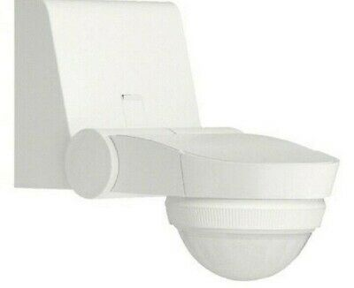 Hager 360° MOTION DETECTOR HAGEE840 230V 1500W 1W+Neutral, Surface Mount, White