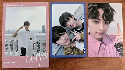Stray Kids Official Felix/Changbin/I.N/Bang Chan Photocard I am You US Seller