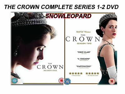 THE CROWN COMPLETE SERIES 1-2 DVD Season  Claire Foy Matt Smith UK Rel NEW R2