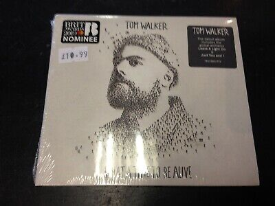 Tom Walker - What A Time To Be Alive Cd New Mint Sealed 2019