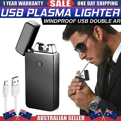 AU Lighter Electric Rechargeable Mini Usb Windproof Flameless lighter Cigarette