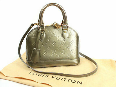 ae0ecac1fd8e Louis Vuitton Vernis Alma BB Shoulder Bag