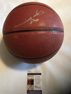 be237596a5d ALLEN IVERSON SIGNED Auto Nba Spalding Full Size Basketball ...