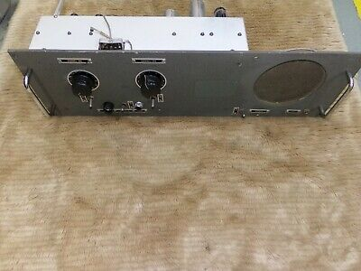 Vintage Western Electric Dictaphone 2 channel Tube Preamplifier and Tube Amp 6L6