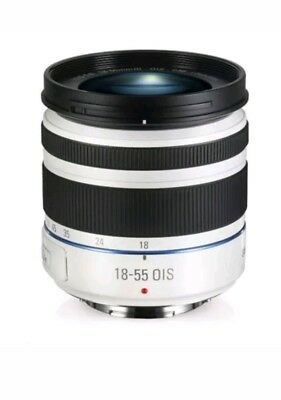 SAMSUNG NX 18-55mm F3.5-5.6 OIS III i-Function Lens White For NX (White Box)