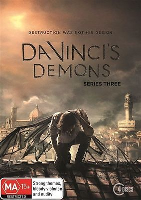 Da Vinci's Demons : Season 3 Third  (DVD, 2016, 4-Disc Set) - FREE POST