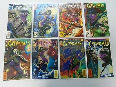 Catwoman Lot (2nd Series) From:#0-95, 73 Different Average 8.0/VF (1993-2001)