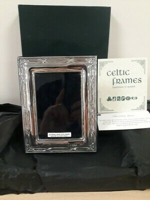 Celtic Knot SOLID SILVER Photo Frame  Ref: 1132