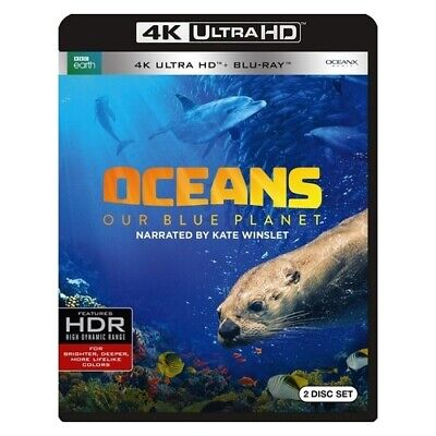 Warner Home Video Bre736548 Oceans-Our Blue Planet (4K-Uhd Blu-Ray/bbc)