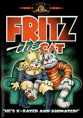 Fritz The Cat  [Adult Animated Comedy] 1972 Classic Uncut Widescreen