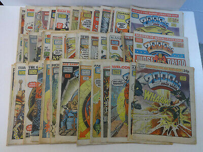 2000AD Comics 1985 Job Lot of 56