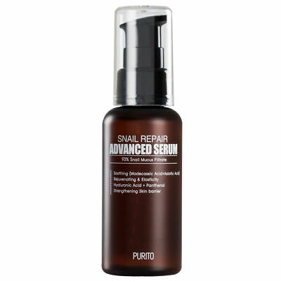 [PURITO] Snail Repair Advanced SERUM 93% SCHNECKENSCHLEIM POWER ANTI-FALTEN 60ml