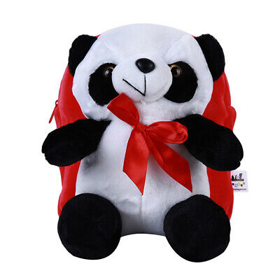 Panda Backpack Animals Doll Plush Cute Soft Toy Large Bag Pillow Kid Gifts LH