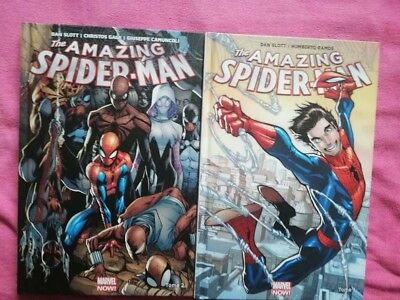 Amazing Spider-Man marvel now T01 et T02