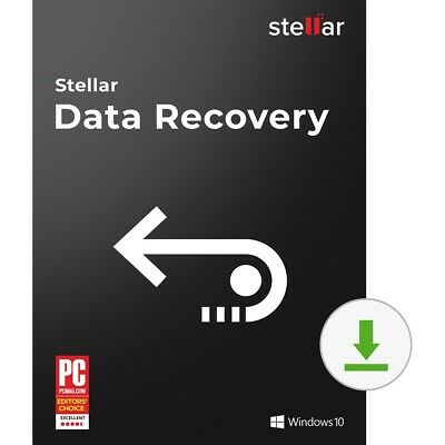 Stellar Data Recovery Software Windows Standard recover deleted files [Download]