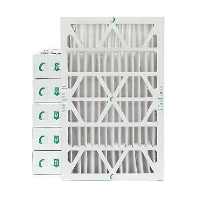 16x25x4 MERV 10 AC Air Filters. 6 PACK.  Actual Size: 15-1/2 x 24-1/2 x 3-3/4