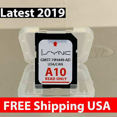 A10 Ford Lincoln Us Canada Sync Navigation Sd Card Map Update F150 Fast Shipping