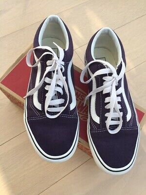 ab0cc32a940506 VANS OLD SKOOL School Lila Purple Shoes Trainers brand New In Box ...