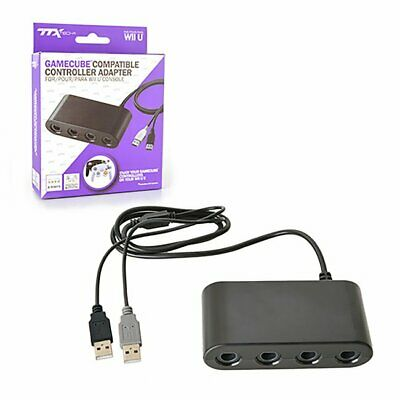 MAYFLASH 4 Port GameCube Controller Adapter - Nintendo Switch, Wii U and PC USB